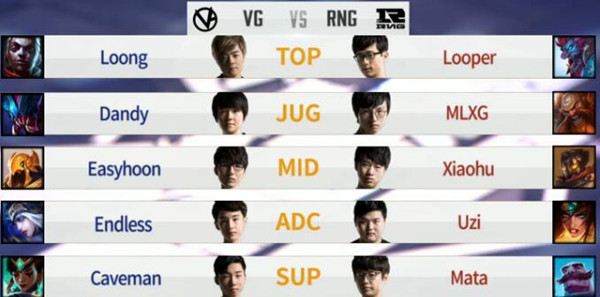 【战报】RNG完美团战战胜VG